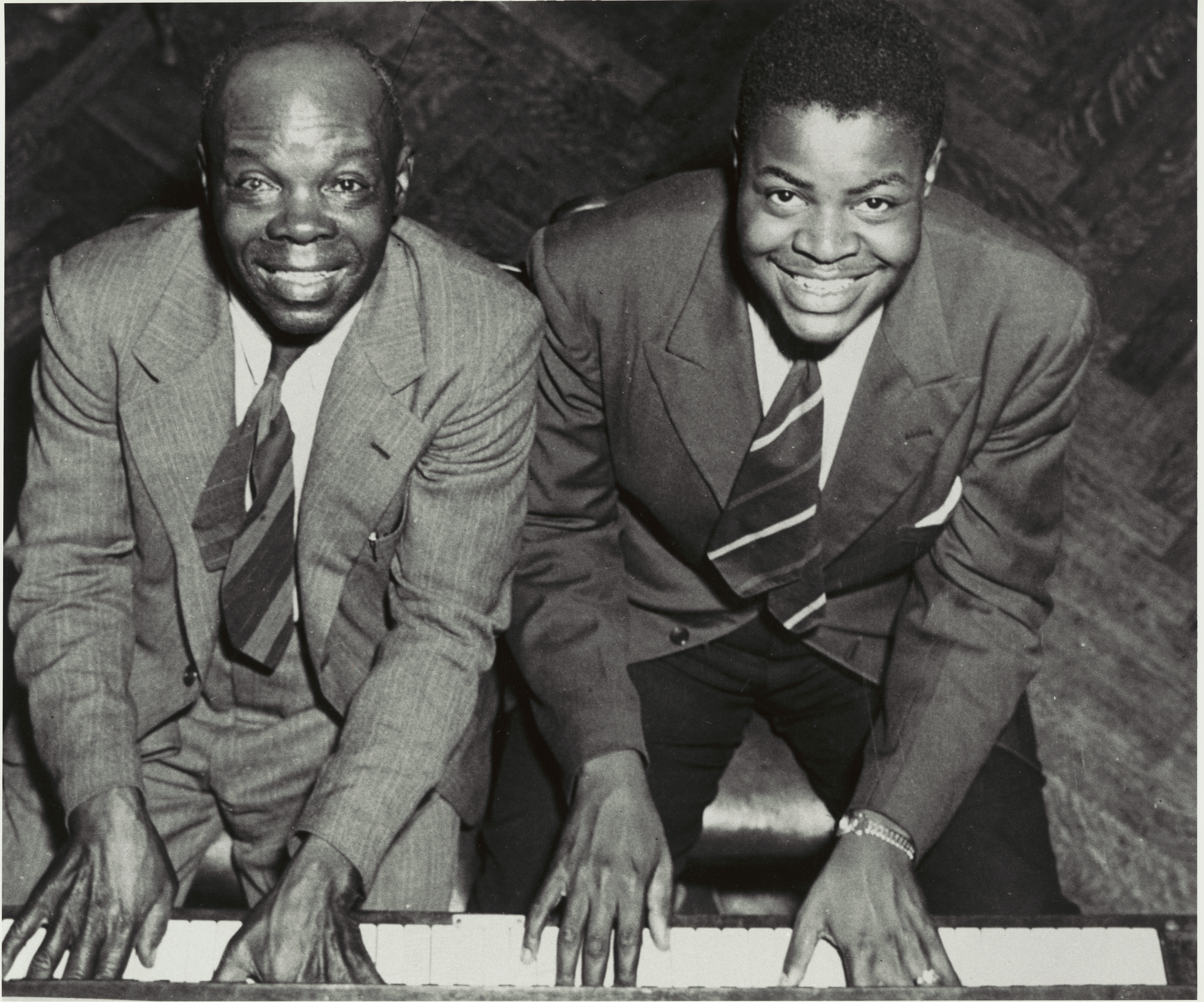 Photo Oscar Peterson et son père